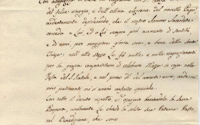 Lettera di San Vincenzo Romano del 26 febbraio 1831
